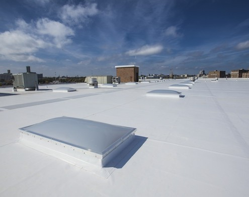 Pvc Vinyl Roofing Systems Langer Roofing Amp Sheet Metal Inc