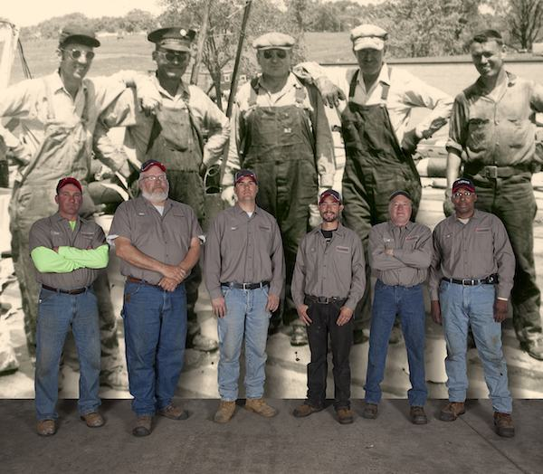 Langer Roofing Service Crew